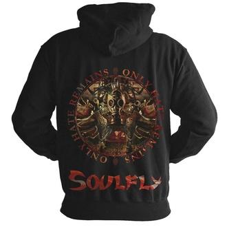 Moška jopa s kapuco Soulfly - NUCLEAR BLAST - NUCLEAR BLAST, NUCLEAR BLAST, Soulfly
