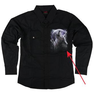 majica moški z dolgo rokav SPIRAL - WOLF SOUL - ZAŠČITA, SPIRAL