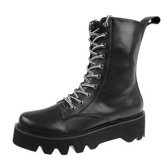 Škornji s platformo unisex - Ammo - DISTURBIA, DISTURBIA