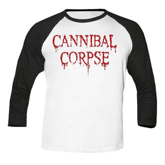 Moška metal majica Cannibal Corpse - Dripping logo BASEBALL - NUCLEAR BLAST, NUCLEAR BLAST, Cannibal Corpse