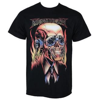 Metal majica moški Megadeth - FLAMING VIC - PLASTIC HEAD, PLASTIC HEAD, Megadeth
