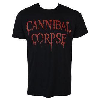 Metal majica moški Cannibal Corpse - DRIPPING LOGO - PLASTIC HEAD, PLASTIC HEAD, Cannibal Corpse