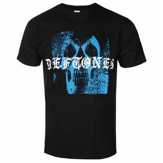 Moška majica Deftones - Static Skull - Črna - ROCK OFF - DEFTTS06MB