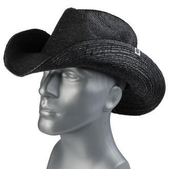 Klobuk WORNSTAR - Hellrider - Black Rocker Cowboy , WORNSTAR