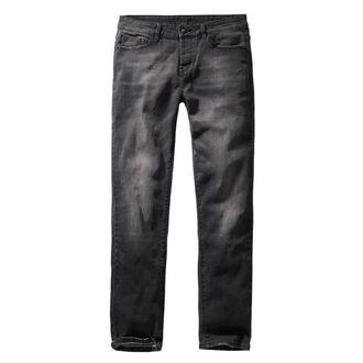 Moške hlače BRANDIT - Rover - Črna denim - slim fit, BRANDIT