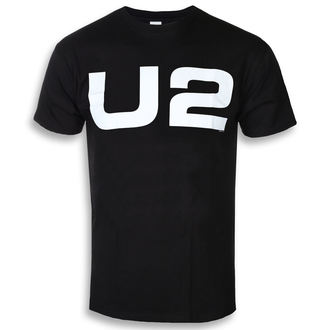 Moška metal majica U2 - WHITE LOGO - PLASTIC HEAD, PLASTIC HEAD, U2