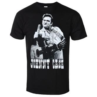 Moška majica JOHNNY CASH - FINGER SALUTE - ČRNA - GOT TO HAVE IT, GOT TO HAVE IT, Johnny Cash