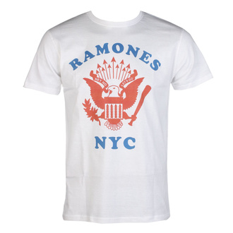 Moška majica RAMONES - NYC BASEBALL - WHITE - GOT TO HAVE IT, GOT TO HAVE IT, Ramones