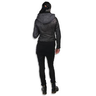 Ženska usnjena jakna AC-DC - Antracite - NNM, NNM, AC-DC