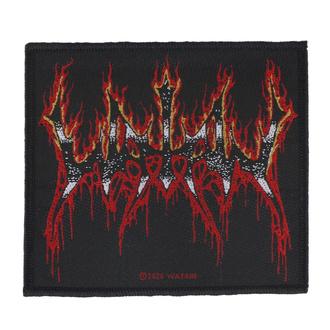 Našitek Watain - Flaming Logo - RAZAMATAZ, RAZAMATAZ, Watain