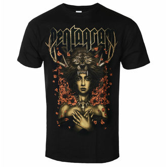 Moška majica Pentagram - Priestess - Črna - INDIEMERCH - INM048