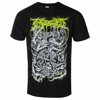 Moška majica Ingested - Demon - Črna - INDIEMERCH, INDIEMERCH, Ingested