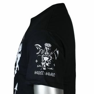 Moška majica Marduk - SRPNT SRMN - Črna - INDIEMERCH, INDIEMERCH, Marduk