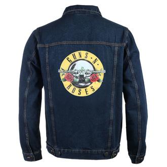 Moška jakna Guns N' Roses - Classic Logo - DENIM - ROCK OFF, ROCK OFF, Guns N' Roses