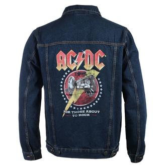 Moška jakna AC / DC - About To Rock - DENIM - ROCK OFF, ROCK OFF, AC-DC