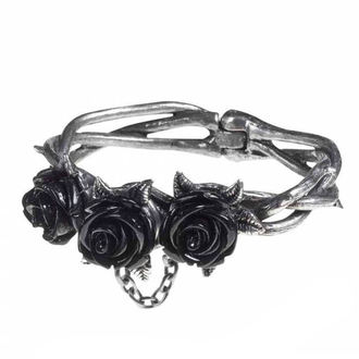 Zapestnica ALCHEMY GOTHIC - Wild Black Rose, ALCHEMY GOTHIC