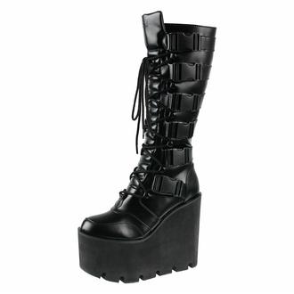 Ženski čevlji KILLSTAR - Lugosi - Črna, KILLSTAR