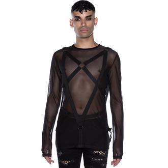 Moška majica z dolgimi rokavi KILLSTAR - Elysium Fishnet, KILLSTAR