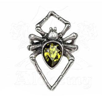 Prstan ALCHEMY GOTHIC - Emerald Venom, ALCHEMY GOTHIC