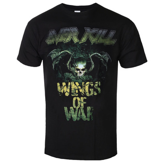 Moška metal majica Overkill - Cover Wings Of War - ART WORX, ART WORX, Overkill