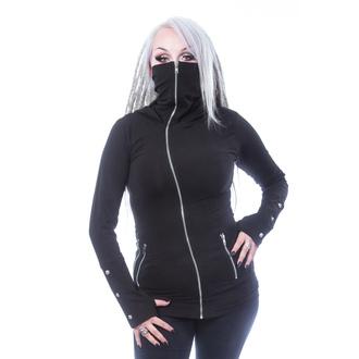 Ženska majica (sweatshirt) CHEMICAL BLACK - EUDORA - ČRNA, CHEMICAL BLACK