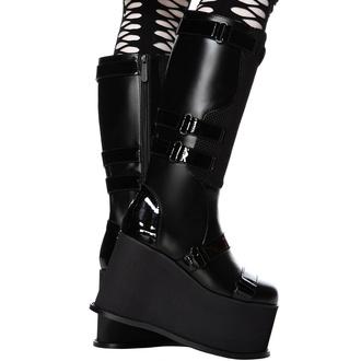 Ženski škornji KILLSTAR - Hazel - Črna, KILLSTAR