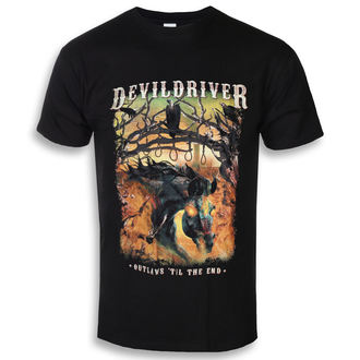Moška metal majica Devildriver - Outlaws Til The End - NAPALM RECORDS, NAPALM RECORDS, Devildriver
