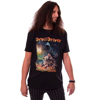 Moška majica DEVILDRIVER - Dealing With Demons - NAPALM RECORDS, NAPALM RECORDS, Devildriver