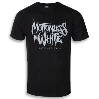Moška metal majica Motionless in White - Graveyard Logo - ROCK OFF, ROCK OFF, Motionless in White