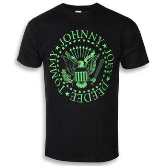 Moška metal majica Ramones - Green Seal - ROCK OFF, ROCK OFF, Ramones