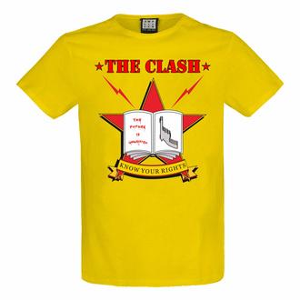 moška majica THE CLASH - KNOW YOUR PRAVICE - YEL NIZKA RAVEN - AMPLIFIED, AMPLIFIED, Clash