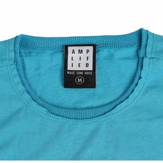 moška majica CYPRESS HILL - FLORAL SKULL - TEAL PANTHER - AMPLIFIED, AMPLIFIED, Cypress Hill
