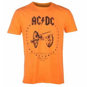 moška majica AC/DC - ZA TI ABOUT TO ROCK - ORANGE CRUSH - AMPLIFIED, AMPLIFIED, AC-DC