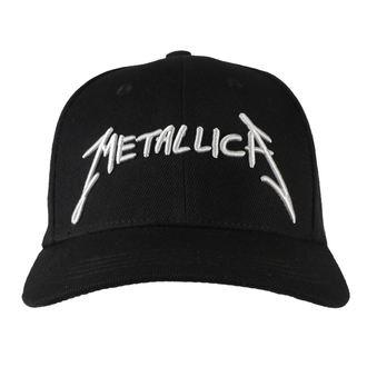 Kapa Metallica - Garage - Srebrna Logo Črno, NNM, Metallica