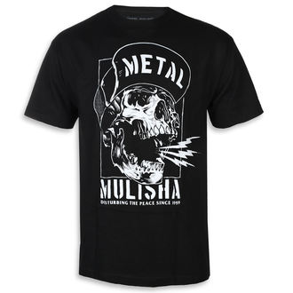 Moška ulična majica - NO PEACE BLK - METAL MULISHA, METAL MULISHA