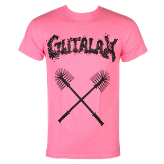 Moška majica GUTALAX - toilet brushes - roza - ROTTEN ROLL REX, ROTTEN ROLL REX, Gutalax