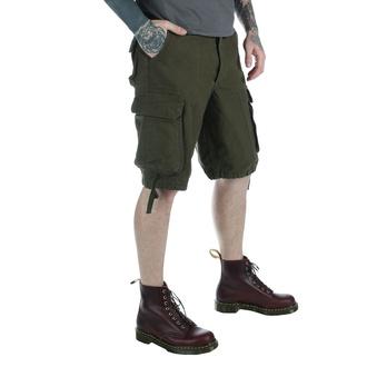 kratke hlače moški Vintage style - OLIV, MMB