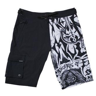 Moške kratke hlače (plavalne kratke hlače) METAL MULISHA - FLYER- BLK, METAL MULISHA