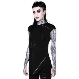 Ženska majica KILLSTAR - Frankie Zip Top - KSRA002152