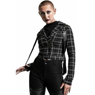 Ženska jakna KILLSTAR - Freak Flag - ASH TARTAN - KSRA003952
