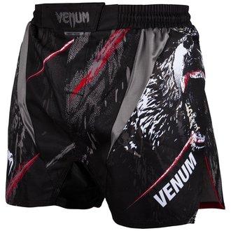 Moške boksarske kratke hlače (fightshorts) Venum - Grizzli - Črno / Bela, VENUM
