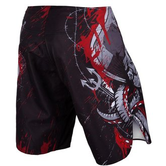 Moške boksarske kratke hlače VENUM - Pirate - Črna / Rdeča, VENUM
