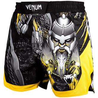 Moške boksarske kratke hlače Venum - Viking 2.0 - Črno / Rumena, VENUM