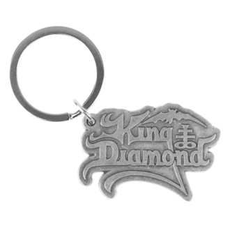 Obesek za ključe King Diamond - Logo - RAZAMATAZ, RAZAMATAZ, King Diamond