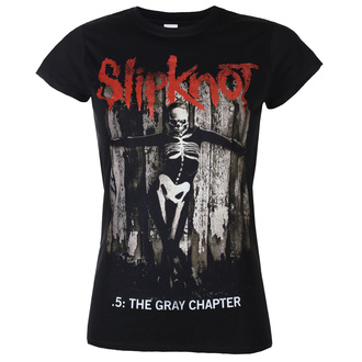 Ženska majica Slipknot - The Gray - Chapter Album - ROCK OFF, ROCK OFF, Slipknot