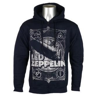 Moška Jopa s kapuco Led Zeppelin - Navy -, NNM, Led Zeppelin