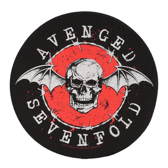 Velik našitek Avenged Sevenfold - Distressed Skull - RAZAMATAZ, RAZAMATAZ, Avenged Sevenfold