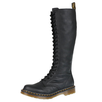 Škornji DR. MARTENS - 20 lukenj - 1B60 Virginia črna, Dr. Martens