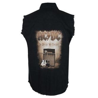 Moška Srajca brez rokavov (telovnik) AC / DC - IN ROCK WE TRUST - RAZAMATAZ, RAZAMATAZ, AC-DC