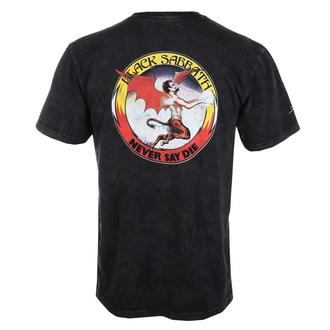 moška majica Lakai x Black Sabbath - Never Say Die - gunmetal heather, Lakai x Black Sabbath, Black Sabbath